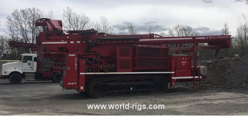 Drilling Rig - Foremost DR-40 Crawler - For Sale