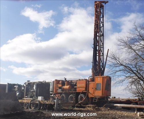 Schramm T660 Drill Rig & Sullair 1150/350 Package - for Sale