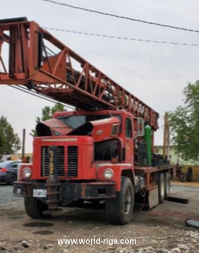Ingersoll-Rand Cyclone TH60 Used Drilling Rig for Sale
