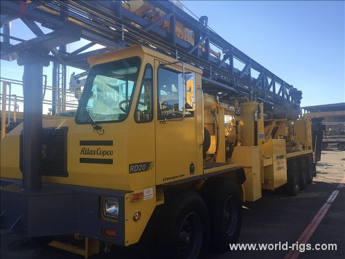 New Atlas Copco RD20 Range III XC Drilling Rig - For Sale