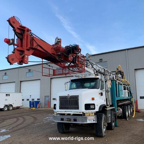 UDR 1500 Range III Mobile Drilling Rig - For Sale