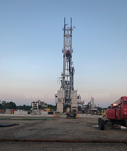 450 t Hydraulic Land Drilling Rig for Sale