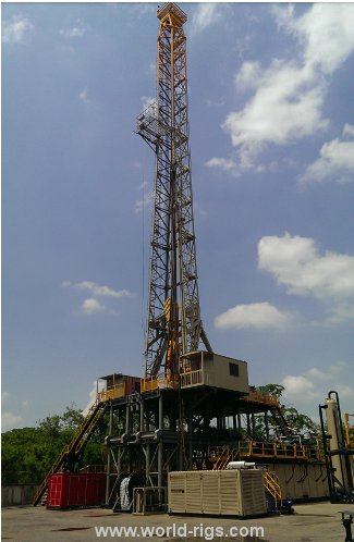 2007 Built Mechanical Land Rig for Sale